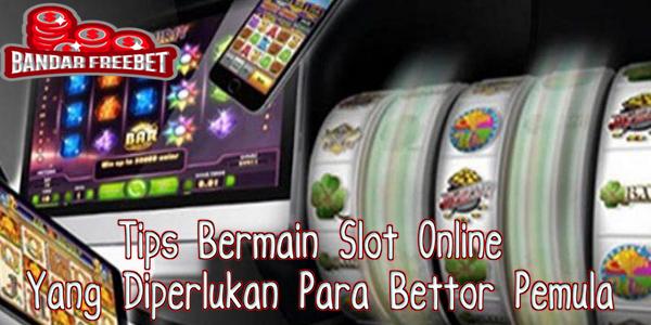 Tips Bermain Slot Online Yang Diperlukan Para Bettor Pemula